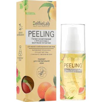 Пилинг с АНА-кислотами и фруктовыми экстрактами для жирной кожи лица Selfielab Peeling