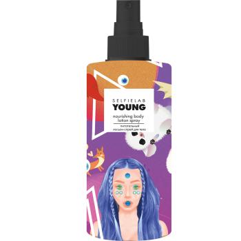 Питательный лосьон-спрей для тела Selfielab Young Nourishing Body Lotion Spray