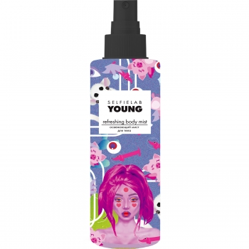 Освежающий мист для тела Selfielab Young Refreshing Body Mist