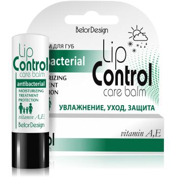 Антибактериальный бальзам для губ BelorDesign Lip Control Antibacterial