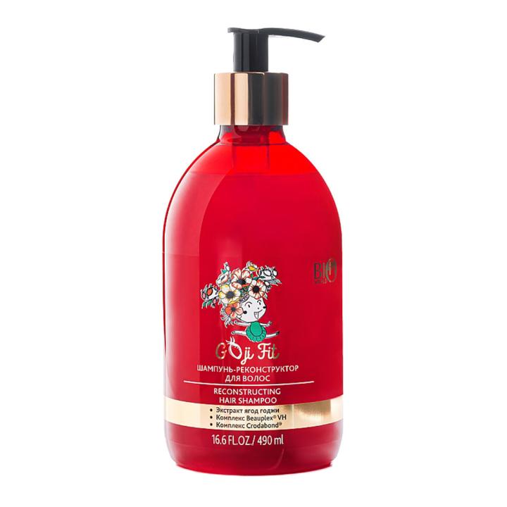 Шампунь-реконструктор для волос Bio World Goji Reconstructing Hair Shampoo 490 мл