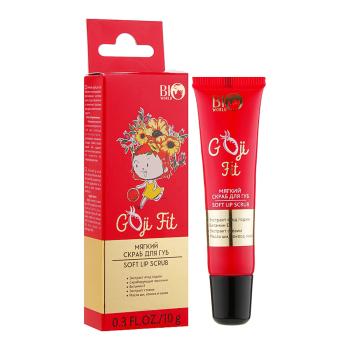 Мягкий скраб для губ Bio World Goji Fit Soft Lip Scrub 10 г