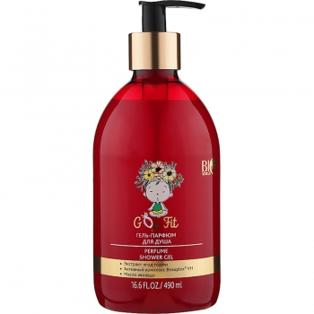 Гель-парфюм для душа Bio World Goji Fit Perfume Shower Gel 490 мл