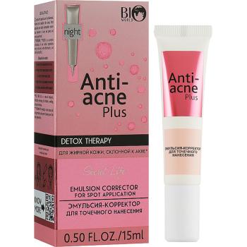Эмульсия для лица Bio World Secret Life Detox Therapy Anti-Acne Plus Emulsion Corrector For Spot Applicator
