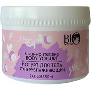 Йогурт для тела суперувлажняющий Bio World Secret Life Shea Body Yogurt