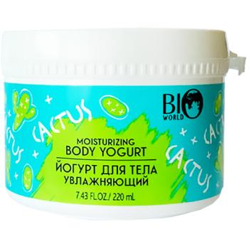 Йогурт для тела увлажняющий Bio World Secret Life Cactus Moisturizing Body Yogurt