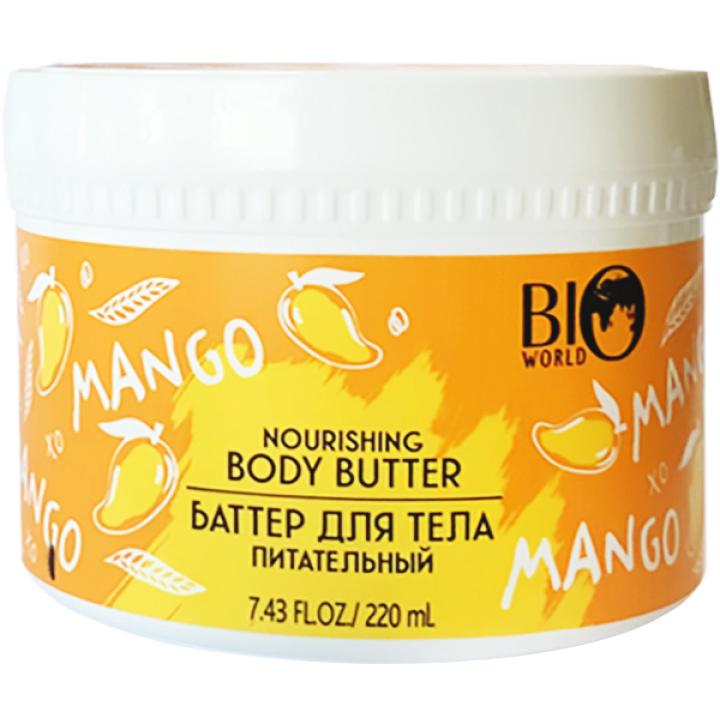 Баттер для тела питательный Bio World Secret Life Nourishing Mango Body Butter