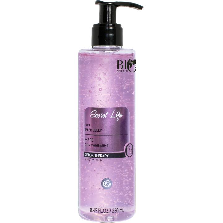 "Желе для умывания ""Розовая вуаль"" Bio World Secret Life DetoxTherapy Jelly"