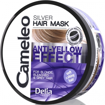 Маска для волос Delia Cameleo Silver anti-yellow EFFECT 200 мл