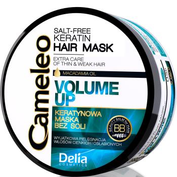 Кератиновая маска-объем для волос Delia Cameleo Mask 200 мл