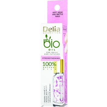 Укрепляющее масло для ногтей и кутикулы Delia Cosmetics Bio Nail Oil 11 мл