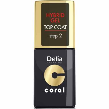 Топовое покрытие Delia Coral Hybrid Top Coat Gel 11 мл