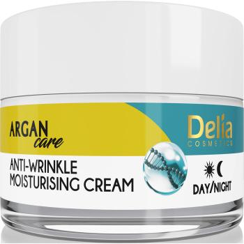 Увлажняющий крем против морщин с гиалуроновой кислотой Delia Argan Care Cream 50 мл