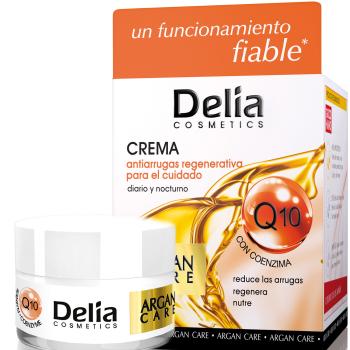 Крем против морщин с аргановым маслом и коэнзимом Q10 Delia Argan Care Cream 50 мл
