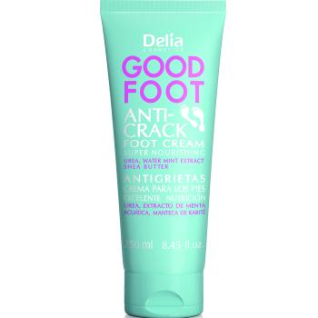 Увлажняющий крем для огрубевшей, потрескавшейся кожи стоп Delia Good Foot Anti-Crack Super Nourishing Foot Cream 250 мл