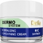 Нормализующий и увлажняющий крем для лица Delia Dermo System Normalizing & Soothing Cream 50 мл