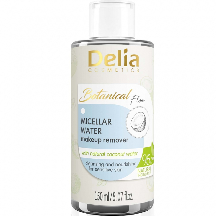 Мицеллярная вода для снятия макияжа Delia Botanical Flow Micellar Water Makeup Remover 150 мл