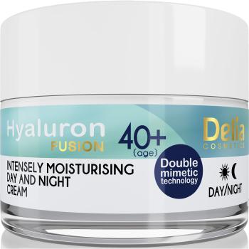 Крем увлажняющий против морщин Delia Hyaluron Fusion Anti-Wrinkle-Intensive Moisturising Day and Night Cream 50 мл