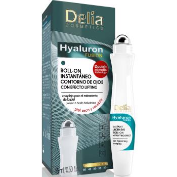 Гель-лифтинг для кожи вокруг глаз Delia Lifting Roll-On 3D Hyaluron Gel 15 мл