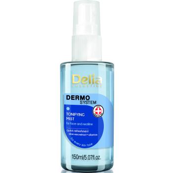 Тонизирующий спрей для лица, шеи и декольте Delia Dermo System 150 мл