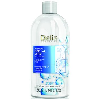 Увлажняющая мицеллярная вода с гиалуроновой кислотой Delia Cosmetics Hialuron Micellar Water 500 мл