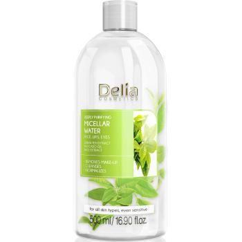 Глубоко очищающая мицеллярная вода с экстрактом зеленого чая Delia Cosmetics Green Tea Extract Micellar Water 500 мл