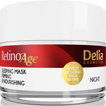 "Маска для лица против морщин ""Ночная"" Delia Cosmetics Retinoage Sleeping Mask 50 мл"