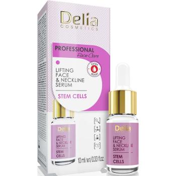 Сыворотка против морщин для лица и шеи с эффектом лифтинга Delia Face Care Stem Sells Face Neckline Intensive Serum 10 мл