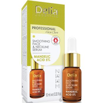 Сыворотка разглаживающая для лица, шеи и декольте с миндальной кислотой Delia Face Care Serum Mandelic Acis 10 мл