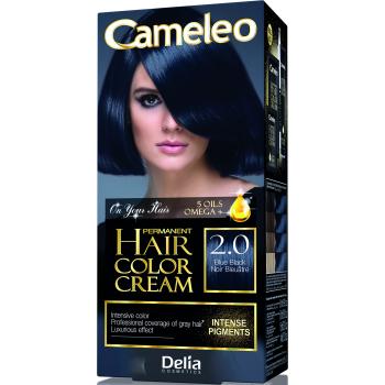 Краска для волос Delia Cameleo OMEGA plus 5 масел Blue Black 50 мл