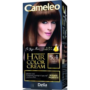 Краска для волос Delia Cameleo OMEGA plus 5 масел Chesnut 50 мл