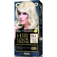 Краска для волос Delia Cameleo OMEGA plus 5 масел Ultimate Ash Blond 50 мл
