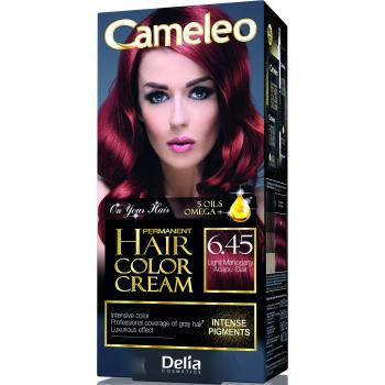Краска для волос Delia Cameleo OMEGA plus 5 масел Light Mahogany 50 мл