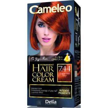 Краска для волос Delia Cameleo OMEGA plus 5 масел Copper Red 50 мл