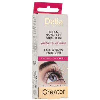 Кондиционер для роста бровей и ресниц Delia Lash&Brow Enhancer Eyelash Creator 7 мл