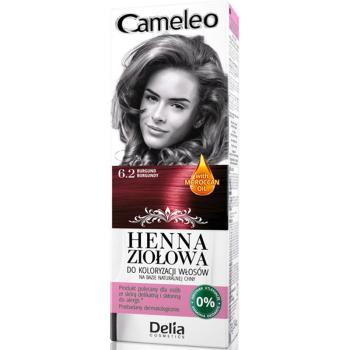 Краска для волос травяная с хной Delia Cameleo Burgund 75 мл