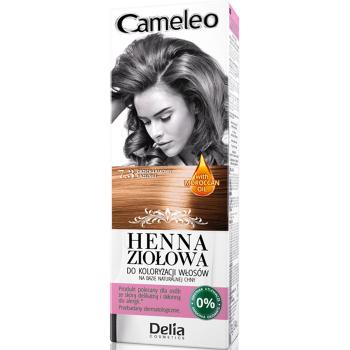 Краска для волос травяная с хной Delia Cameleo Hazelnut 75 мл