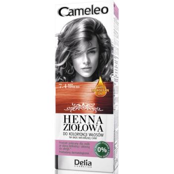 Краска для волос травяная с хной Delia Cameleo Copper Red 75 мл