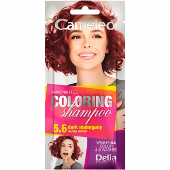 Оттеночный шампунь Delia Cameleo Colouning Shampoo Dark Mahogany