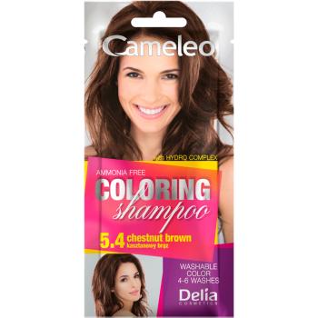 Оттеночный шампунь Delia Cameleo Colouning Shampoo Chestnut Brown