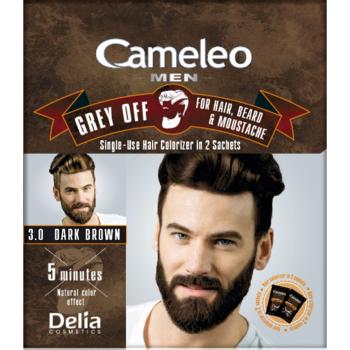 Краска для волос, бороды, усов Delia Cameleo Men Grey Off Dark Brown