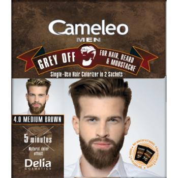 Краска для волос, бороды, усов Delia Cameleo Men Grey Off Brown
