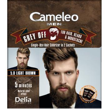 Краска для волос, бороды, усов Delia Cameleo Men Grey Off Light Brown