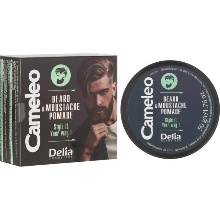 Помада для бороды Delia Cameleo Men Beard and Moustache Pomade 50 мл