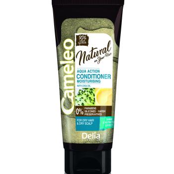 Кондиционер для волос с маслом чиа Delia Cameleo Natural On Your Hair Aqua Action 200 мл