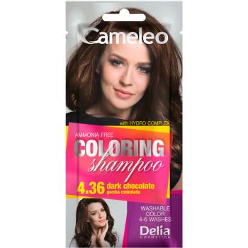 Оттеночный шампунь Delia Cameleo Colouning Shampoo Dark Chocolate
