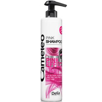 Шампунь для ухода с розовым оттенком Delia Cosmetics Cameleo Pink Effect Shampoo 250 мл