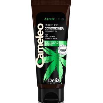 Разглаживающий кондиционер для волос с маслом конопли Delia Cosmetics Cameleo Green Conditioner 200 мл