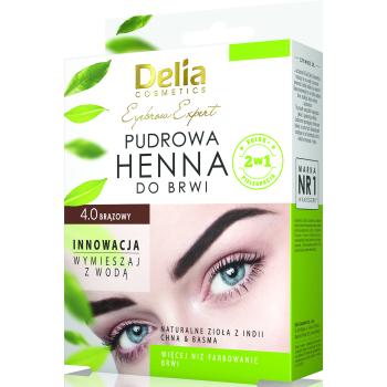 Хна для бровей Delia Cosmetics Brown 4 мл