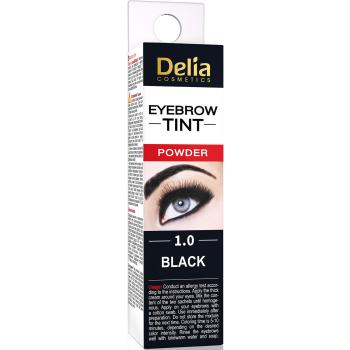 Краска для бровей Delia Eyebrow Expert Henna Traditional Хна Черный 2 мл
